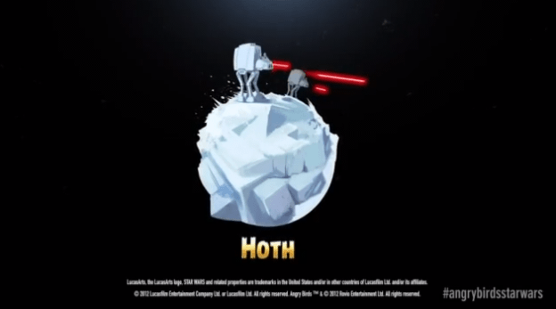 Free Angry Birds Star Wars Update: Hoth