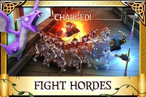 Arcane Legends Fight Enemies