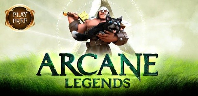 Arcane Legends Google Play Banner