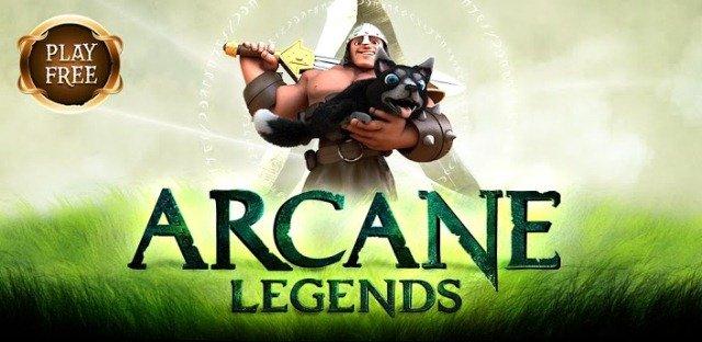 Arcane Legends Google Play Banner