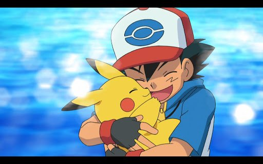 Pokemon TV Ash and Pikachu