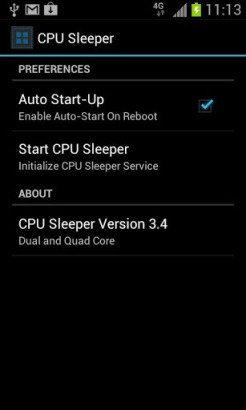 CPU Sleeper Dual Core Screenshot