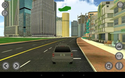 Driving Around Miami in Dexter the Game 2