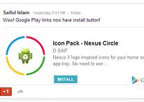 Que tal baixar aplicativos direto do Google+?