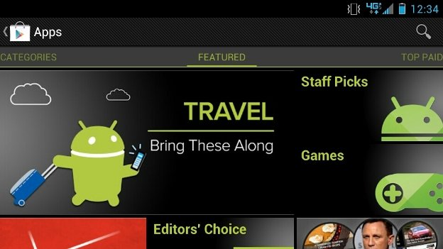 Google Play Storefront