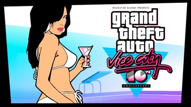Grand Theft Auto Vice City Banner
