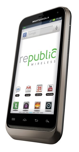 Motorola DEFY XT Through Republic Wireless