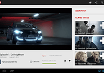 Official Youtube App Updated to Accommodate Ten Inchers