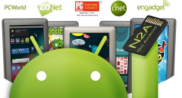 Nook to Android (N2A) Cards