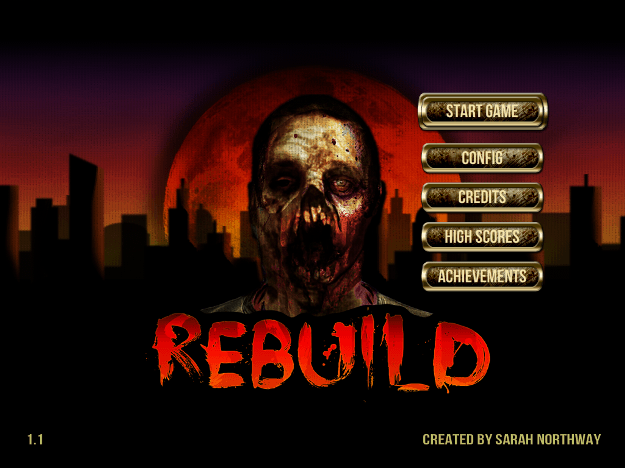 Rebuild Mobile Main Menu