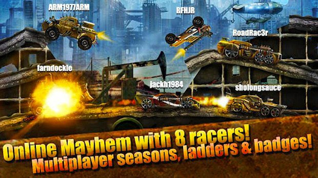 Road Warrior Online Multiplayer