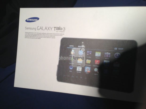 Leaked Image- Samsung Galaxy Tab 3 Retail Packaging
