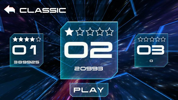 Supersonic Classic Game Mode Menu