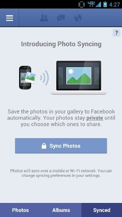 How to Turn Facebook Instant Upload On
