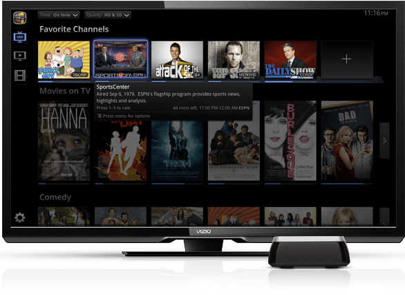 Vizio Co-Star and the Google TV UI