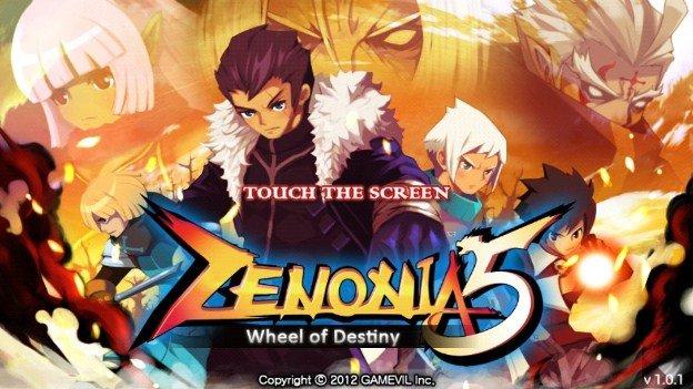 Zenonia Title Screen