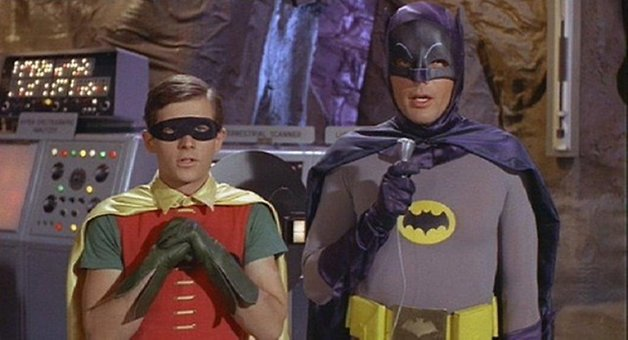 Classic Batman and Robin