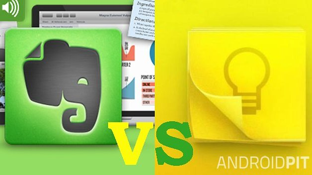 Google keep vs edited2