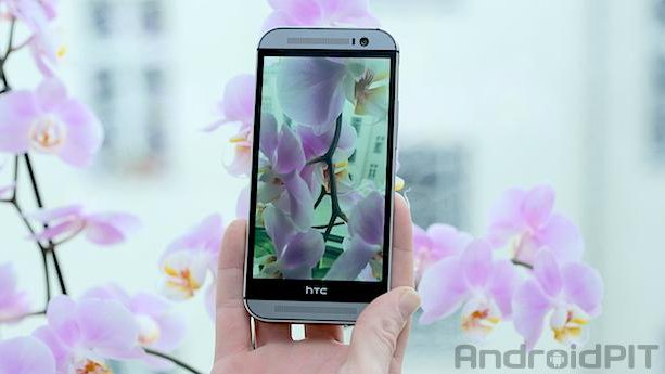 HTC One M8 Flowers edit