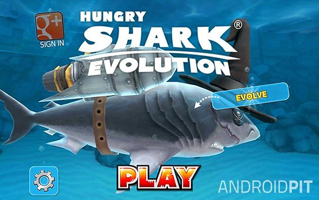 Hungryshark evolution capture