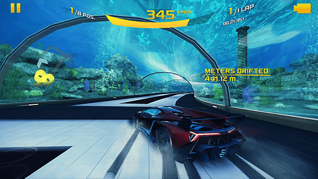 asphalt8 racing games edit