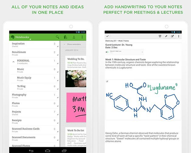 evernote apps esenciales edit