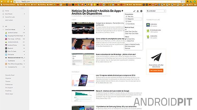 feedly capture edit