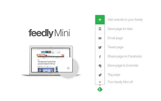 feedlymini chrome extensions