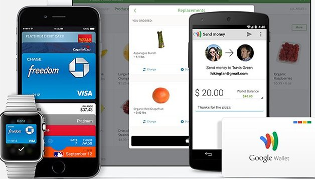 Apple Pay, Google Wallet y PayPal - ¿El fin de las tarjetas de crédito?