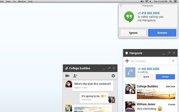 hangouts chrome extensions
