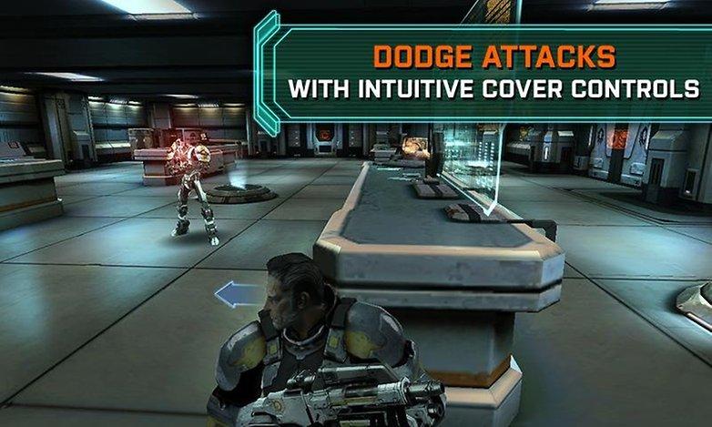 masseffect infiltrator shooter