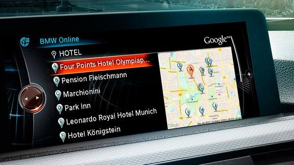 navigation bmw androidauto