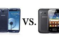 Galaxy Pocket VS. Galaxy S3