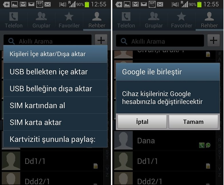 android numara tasima2
