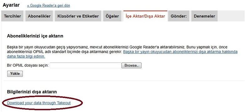 google reader feed aktarma2