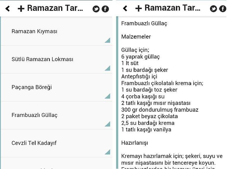 ramazan tarifleri uygulama1