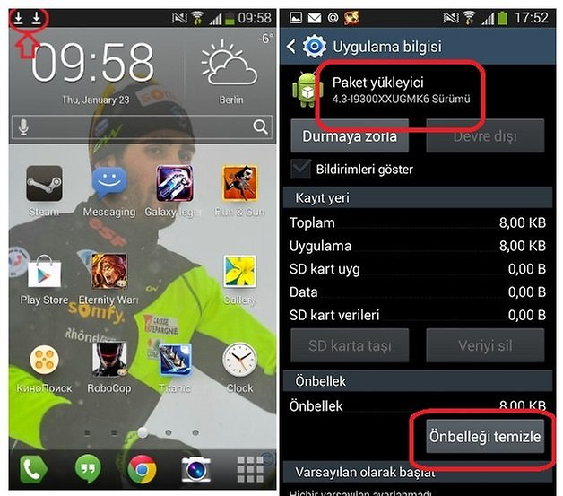 s3 android 4 3 2