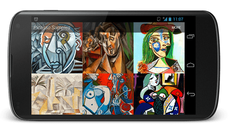 Picasso: the ''painter'' for Android developers