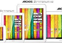 Archos Titanium Tablet Range Announced