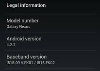 Verizon Galaxy Nexus 4.2.2 Update Is Official