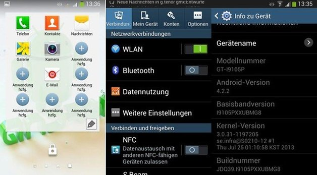 galaxy s2 plus android 422