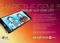 May 1st Sees Debut Of LG Optimus G Pro In NYC
