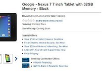 Nexus 7 On Best Buy Going For $229.99 Upwards