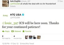 """HTC Thunderbolt Android 4.0 Ice Cream Sandwich Update Coming """"Soon"""""""