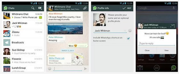 whatsapp voice messaging