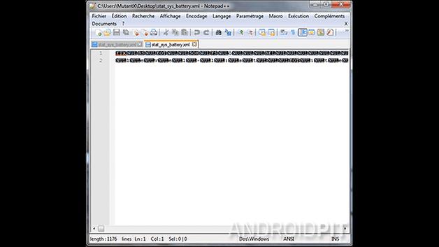 fichier XML compile