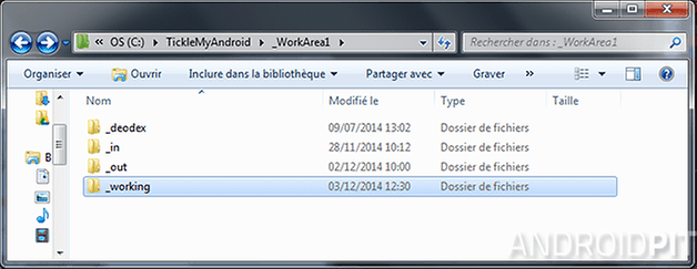 tickle my android decompilation framework res dossier working
