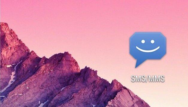 8sms (Stock Messaging, KitKat) - Gute Alternative zu Hangouts-SMS-App