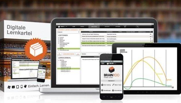 BRAINYOO Karteikarten App: Lerninhalte immer und überall nutzen