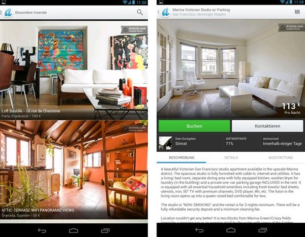 airbnb update